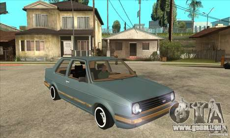 Volkswagen Jetta MKII VR6 pour GTA San Andreas vue arrière