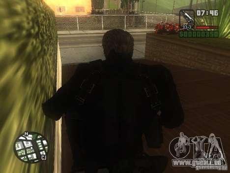 Wesker de RE5 pour GTA San Andreas deuxième écran