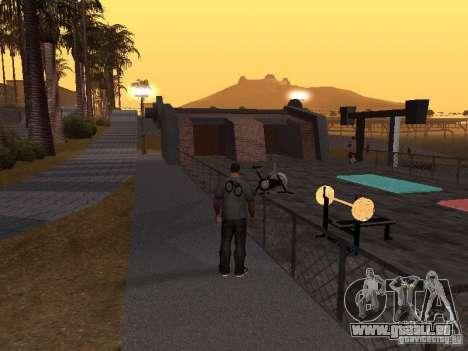 HD Santa Maria Beach pour GTA San Andreas quatrième écran