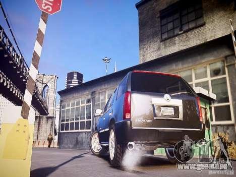 Cadillac Escalade pour GTA 4 Vue arrière de la gauche