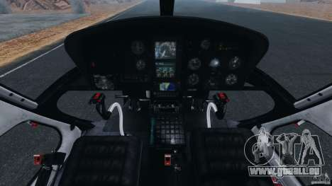 Eurocopter AS350 Ecureuil (Squirrel) für GTA 4 Rückansicht
