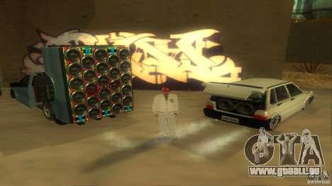 BrakeDance mod pour GTA San Andreas