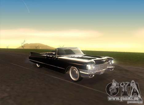 Cadillac Series 62 1960 pour GTA San Andreas vue intérieure