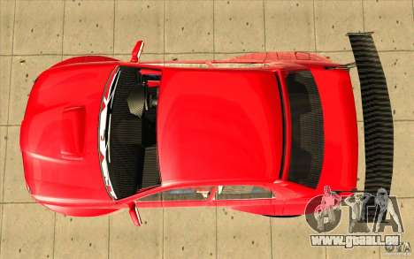 Subaru Impreza STI für GTA San Andreas rechten Ansicht