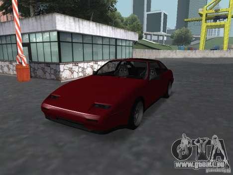 Nissan 300ZX für GTA San Andreas linke Ansicht
