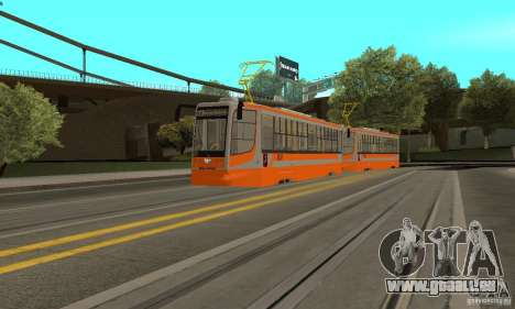 Tramway 71-623 pour GTA San Andreas