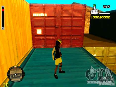 Peau bum v3 pour GTA San Andreas cinquième écran