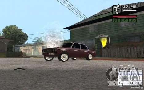 CAMZum beta disponible de GTA 5 pour GTA San Andreas quatrième écran