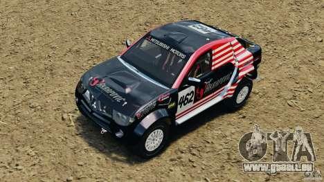 Mitsubishi L200 Triton pour GTA 4 vue de dessus