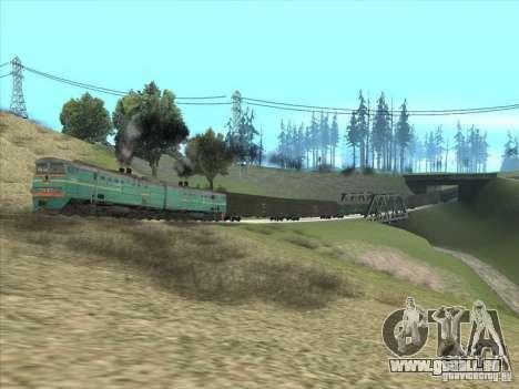 2te10v-3390 pour GTA San Andreas vue arrière