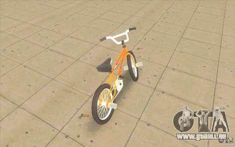 K2B Ghetto BMX pour GTA San Andreas sur la vue arrière gauche