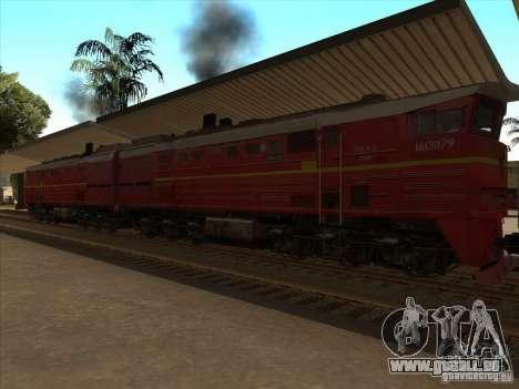 2te10v-4833 für GTA San Andreas Seitenansicht