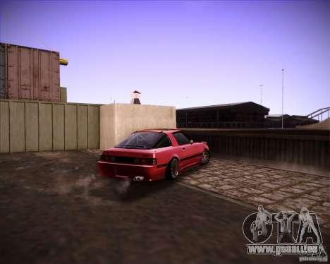 Mazda RX7 FBS3 pour GTA San Andreas vue de droite