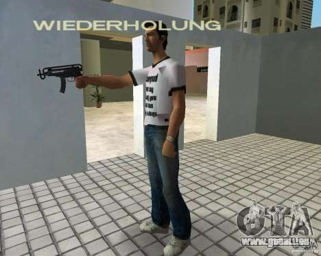 Vz-61 Skorpion für GTA Vice City Screenshot her