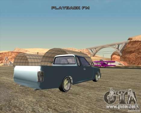 Toyota Hilux Surf Tuned pour GTA San Andreas sur la vue arrière gauche