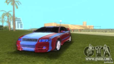 Audi A4 STREET RACING EDITION pour GTA Vice City