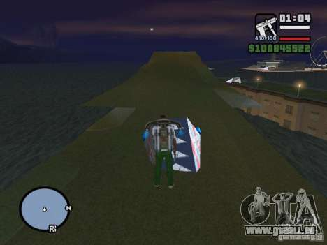 Night moto track V.2 für GTA San Andreas her Screenshot
