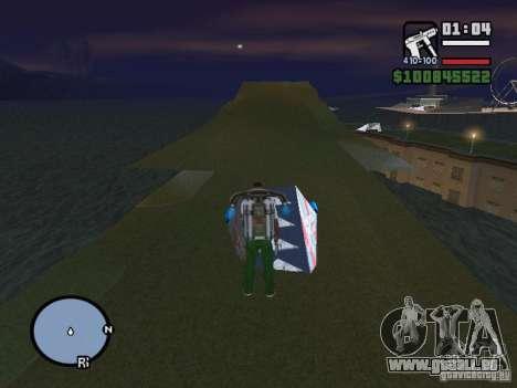 Night moto track V.2 pour GTA San Andreas quatrième écran