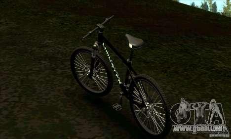 Vélo avec Monster Energy pour GTA San Andreas laissé vue