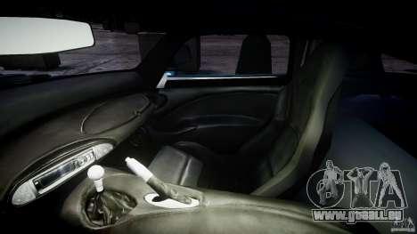 TVR Sagaris pour GTA 4 Vue arrière