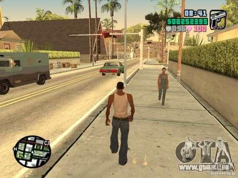 Vice City Hud pour GTA San Andreas quatrième écran