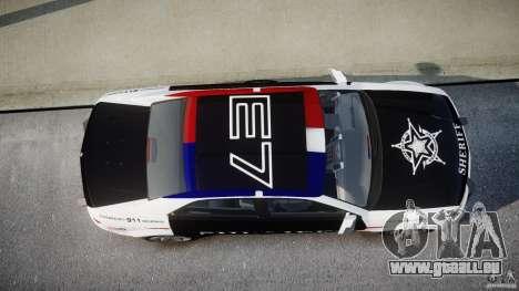 Carbon Motors E7 Concept Interceptor Sherif ELS für GTA 4 Unteransicht