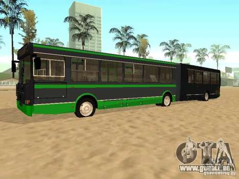 LIAZ 6212 für GTA San Andreas Rückansicht