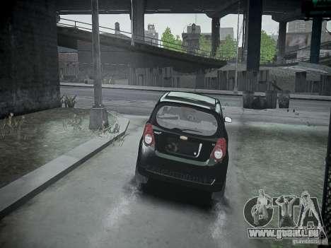 Chevrolet Aveo LT 2009 für GTA 4 rechte Ansicht