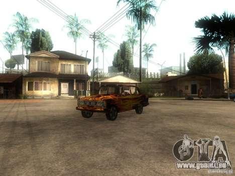 VAZ 2106 von dem Spiel s.t.a.l.k.e.r. für GTA San Andreas