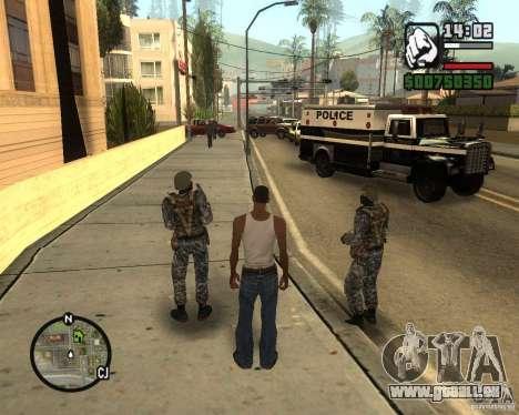 POLICE anti-émeute russe pour GTA San Andreas