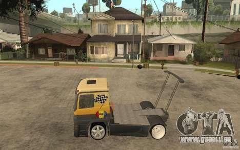 Mercedes Benz Actros Dragster pour GTA San Andreas laissé vue