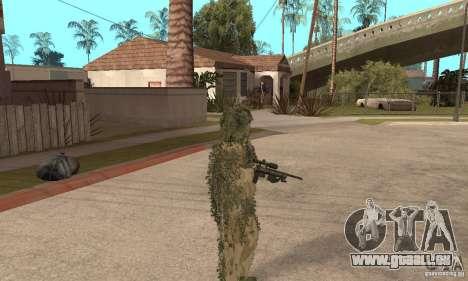 Sniper de peau pour GTA San Andreas quatrième écran