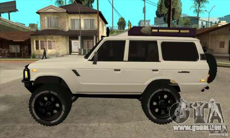 Toyota Land Cruiser 70 1993 Off Road Samurai für GTA San Andreas linke Ansicht