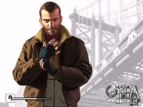 Écran de démarrage GTA 4 pour GTA San Andreas septième écran