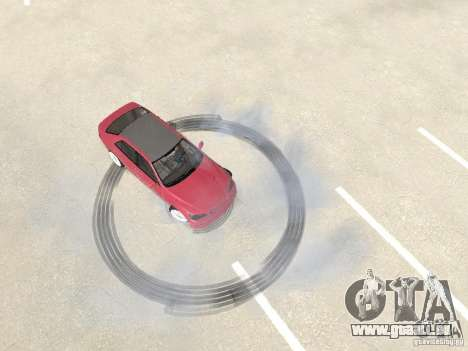 Lexus IS300 HellaFlush für GTA San Andreas Rückansicht