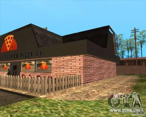 Nouvelle pizzeria dans IdelWood pour GTA San Andreas deuxième écran