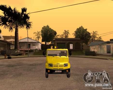 Transporteur de ZIL 5301 Bull pour GTA San Andreas vue arrière