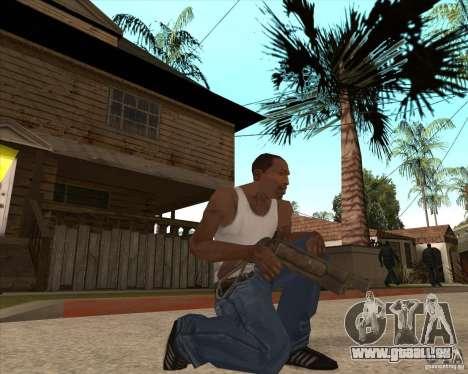 CoD:MW2 weapon pack pour GTA San Andreas cinquième écran