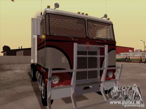 Kenworth K100 für GTA San Andreas Rückansicht