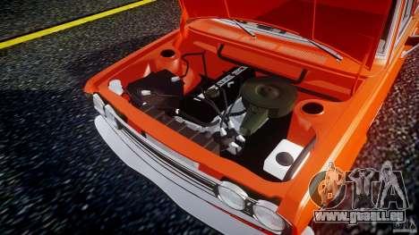 Datsun Bluebird 510 Sedan 1970 für GTA 4 Rückansicht