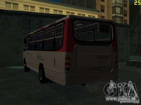 Marcopolo G6 pour GTA San Andreas vue de droite