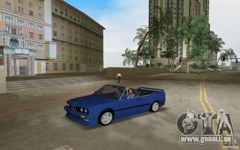 BMW M3 E30 Cabrio pour GTA Vice City