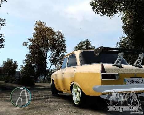Moskvič 412 Street Racer [Alpha] für GTA 4 linke Ansicht