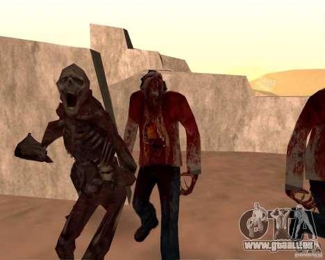 Zombie Half life 2 pour GTA San Andreas dixième écran