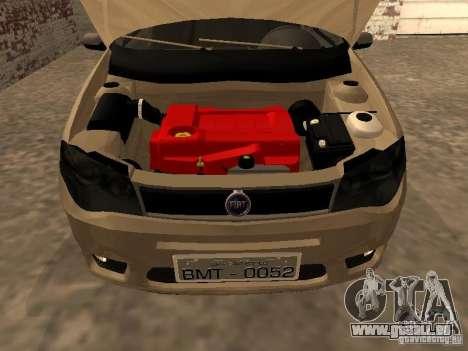 Fiat Palio 1.8R für GTA San Andreas rechten Ansicht
