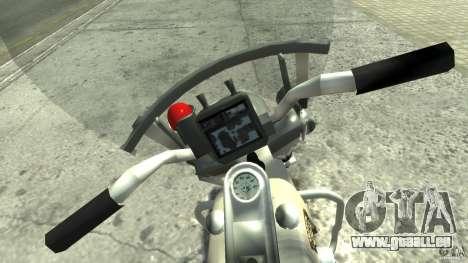 Police Bike für GTA 4 rechte Ansicht