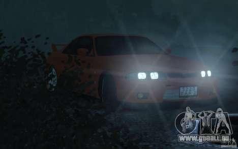 Nissan Skyline für GTA 4 Rückansicht