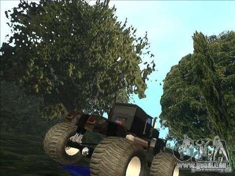 Monsterous Truck für GTA San Andreas rechten Ansicht