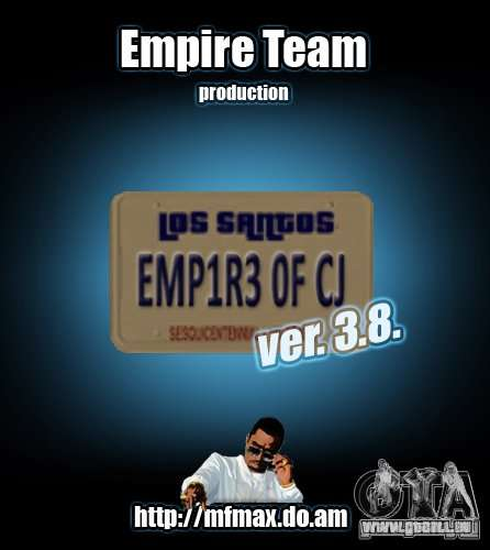 Empire of CJ v.3.8.0 für GTA San Andreas
