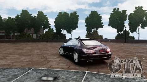 Mercedes Benz E500 Coupe für GTA 4 hinten links Ansicht